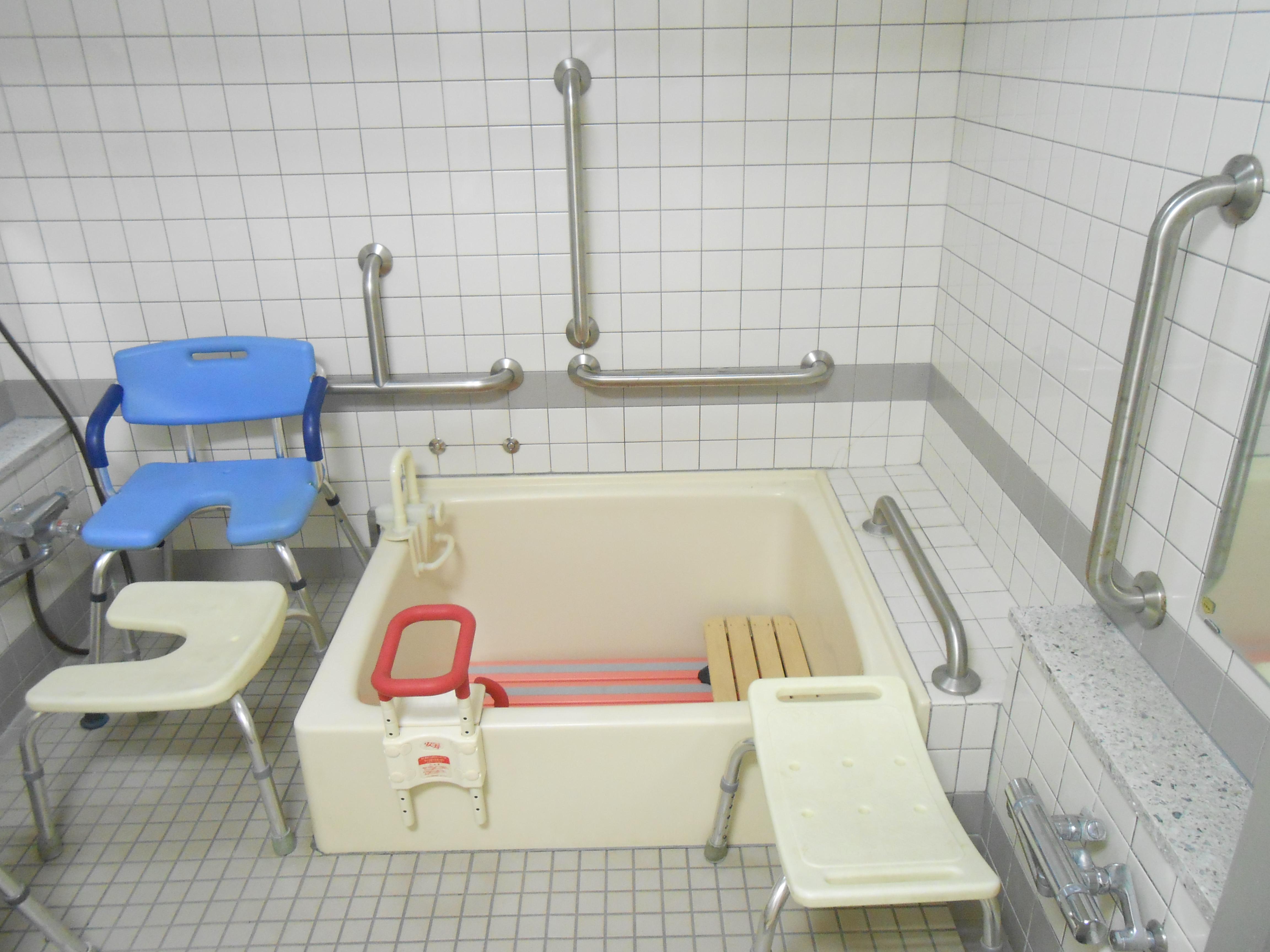 ADL室(入浴動作練習のスペース)